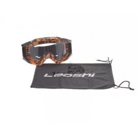 Akiniai ENDURO MX LEOSHI NEON KOLOR NEW