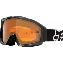 Fox akiniai juodai oranžiniai MX18