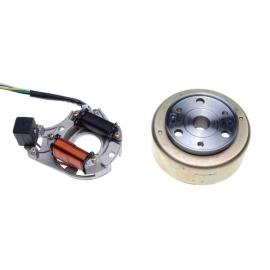 Apvijos generatoriaus 2 polių + magnetas atv 110/125