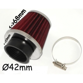 Oro filtras 42mm padengtas