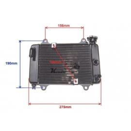 Aušinimo radiatorius + ventiliatorius ATV200